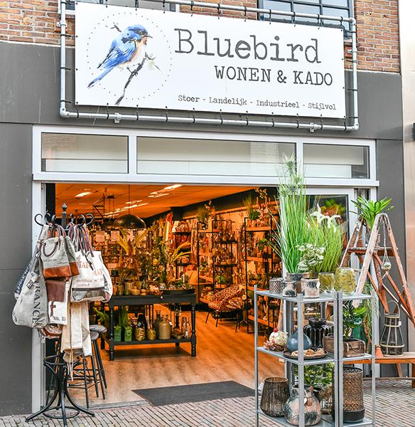 Bluebird Wonen & Kado | winkeltjes  | Ontdek Meppel | Weet wat er speelt.