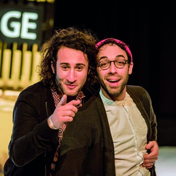 TONEEL: George & Eran worden racisten - theater   Ontdek Meppel   Weet wat er speelt.