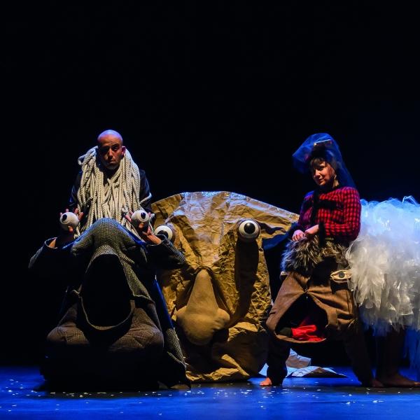 JEUGD / FAMILIE: Pareidolia (5+) - theater   Ontdek Meppel   Weet wat er speelt.