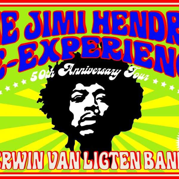 The Jimi Hendrix Re-Experience - 50th Anniversary Tour - theater | Ontdek Meppel | Weet wat er speelt.