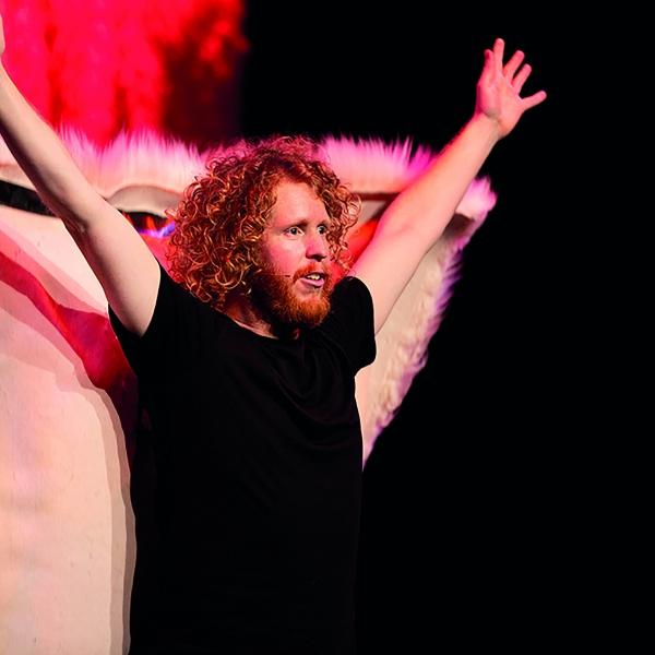 CABARET: Kasper van der Laan - theater   Ontdek Meppel   Weet wat er speelt.