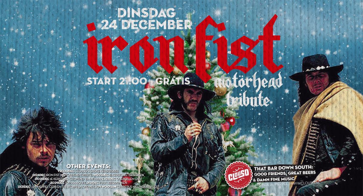 Iron Fist (Motörhead tribute) - concerten   Ontdek Meppel   Weet wat er speelt.